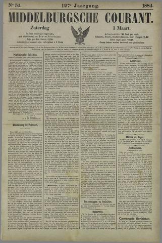 Middelburgsche Courant 1884-03-01