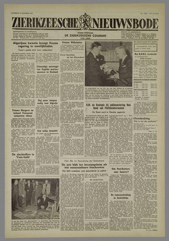 Zierikzeesche Nieuwsbode 1955-10-15