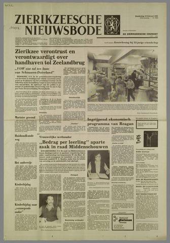 Zierikzeesche Nieuwsbode 1981-02-19