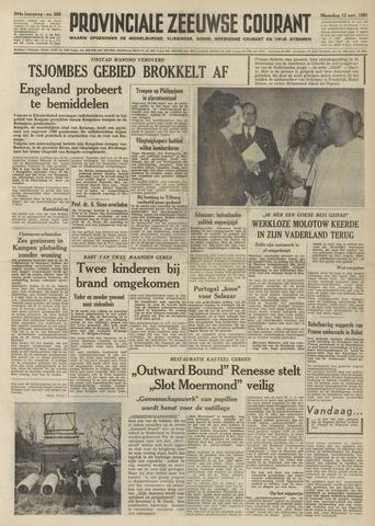 Provinciale Zeeuwse Courant 1961-11-13