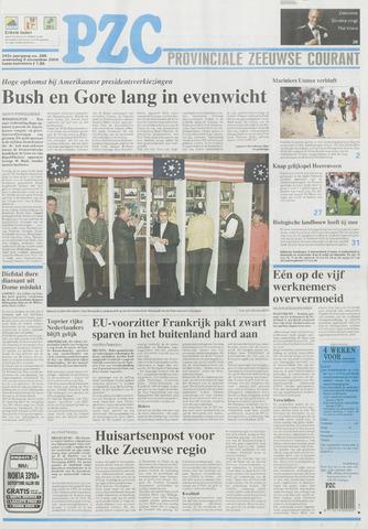 Provinciale Zeeuwse Courant 2000-11-08