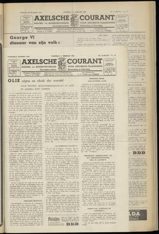 Axelsche Courant 1952-02-06