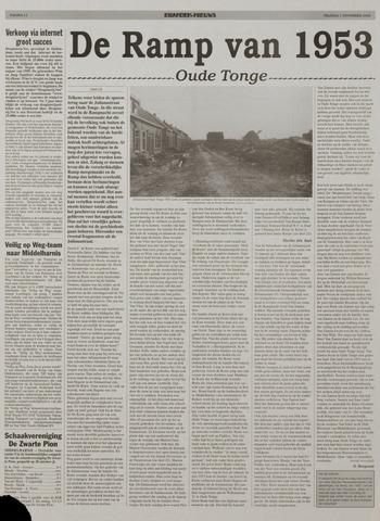 Watersnood documentatie 1953 - kranten 2002-11-01