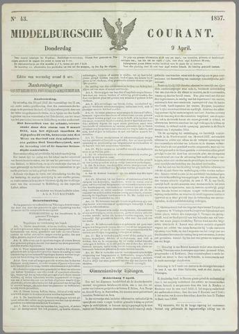 Middelburgsche Courant 1857-04-09