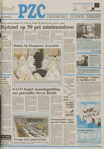 Provinciale Zeeuwse Courant 1993-04-09