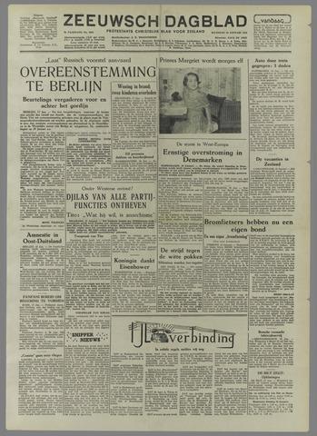 Zeeuwsch Dagblad 1954-01-18