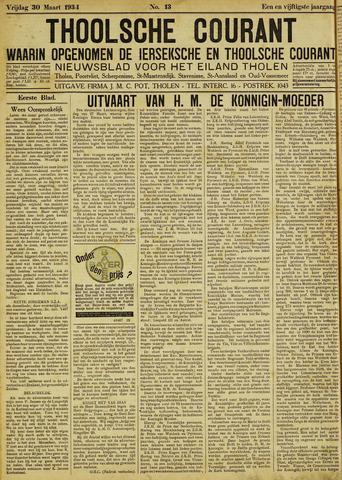 Ierseksche en Thoolsche Courant 1934-03-30