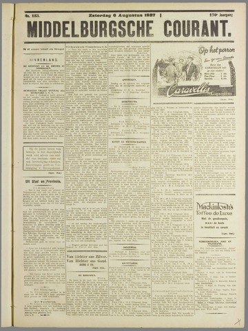 Middelburgsche Courant 1927-08-06