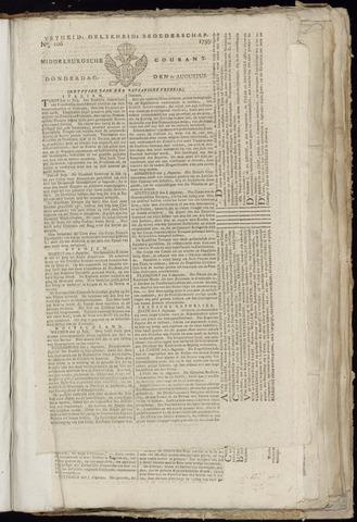 Middelburgsche Courant 1799-08-22