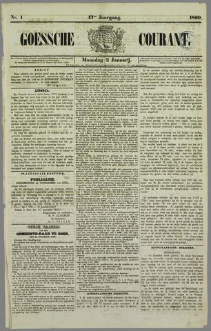 Goessche Courant 1860