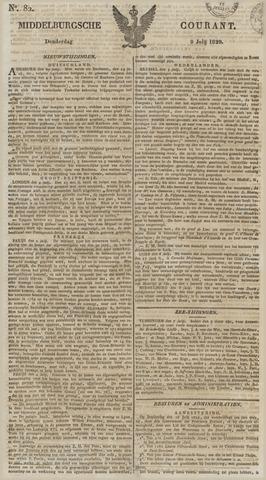 Middelburgsche Courant 1829-07-09