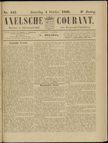 Axelsche Courant 1890-10-04