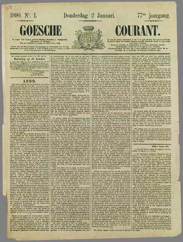 Goessche Courant 1890