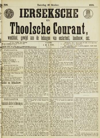 Ierseksche en Thoolsche Courant 1891-10-10