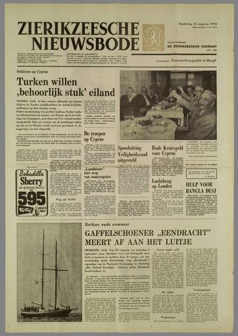 Zierikzeesche Nieuwsbode 1974-08-15