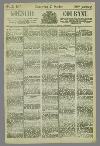 Goessche Courant 1917-10-25