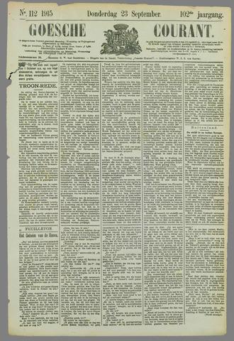 Goessche Courant 1915-09-23