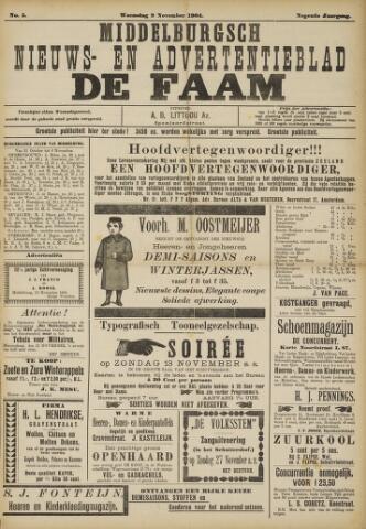 de Faam en de Faam/de Vlissinger 1904-11-09