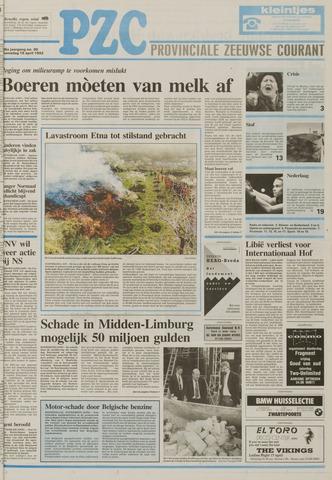 Provinciale Zeeuwse Courant 1992-04-15