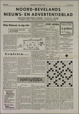 Noord-Bevelands Nieuws- en advertentieblad 1984-11-08