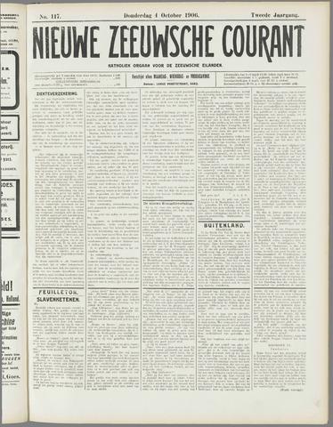 Nieuwe Zeeuwsche Courant 1906-10-04