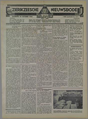 Zierikzeesche Nieuwsbode 1942-10-24
