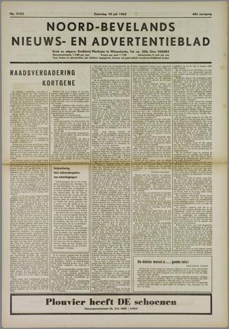 Noord-Bevelands Nieuws- en advertentieblad 1965-07-10