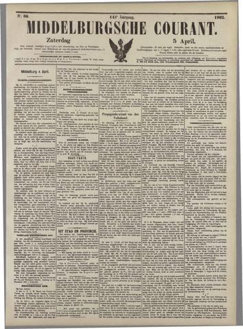 Middelburgsche Courant 1902-04-05