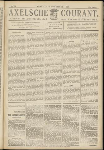 Axelsche Courant 1937-11-02