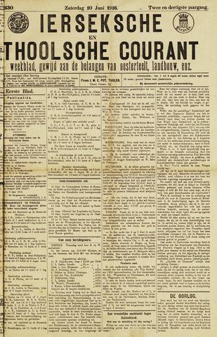Ierseksche en Thoolsche Courant 1916-06-10