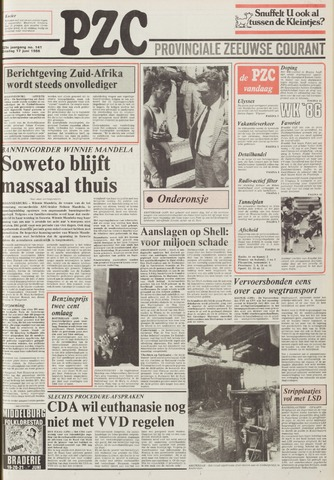 Provinciale Zeeuwse Courant 1986-06-17