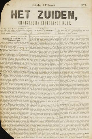 Het Zuiden, Christelijk-historisch blad 1877-02-06