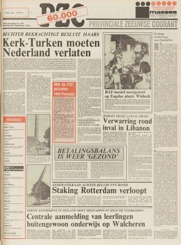 Provinciale Zeeuwse Courant 1979-09-22