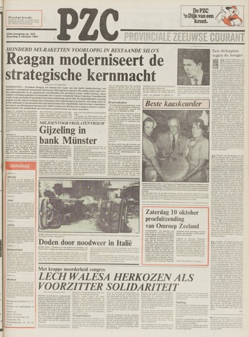 Provinciale Zeeuwse Courant 1981-10-03