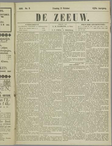 De Zeeuw. Christelijk-historisch nieuwsblad voor Zeeland 1890-10-21