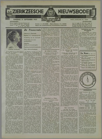 Zierikzeesche Nieuwsbode 1937-09-21