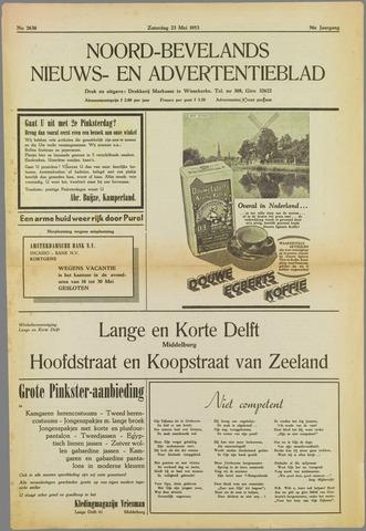 Noord-Bevelands Nieuws- en advertentieblad 1953-05-23