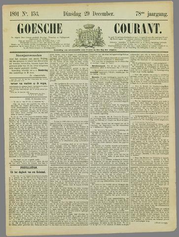 Goessche Courant 1891-12-29