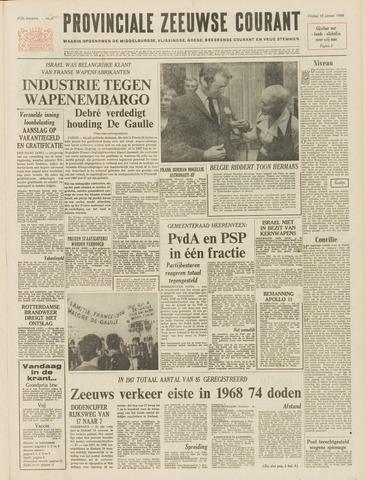 Provinciale Zeeuwse Courant 1969-01-10