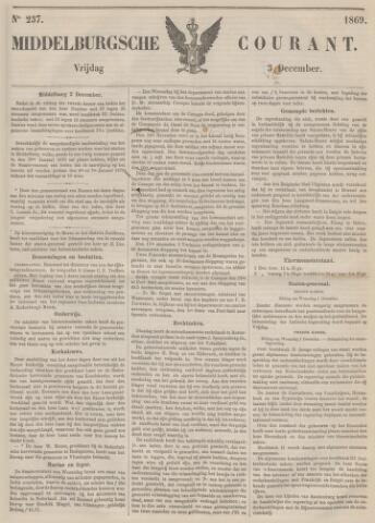 Middelburgsche Courant 1869-12-03