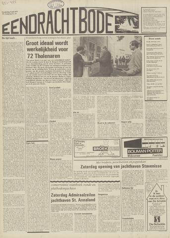 Eendrachtbode (1945-heden)/Mededeelingenblad voor het eiland Tholen (1944/45) 1979-07-05