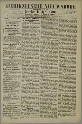 Zierikzeesche Nieuwsbode 1900-04-21
