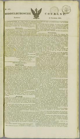 Middelburgsche Courant 1837-11-25