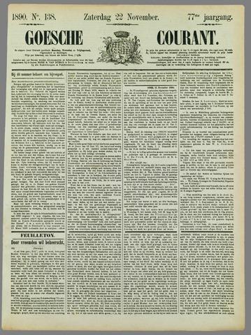 Goessche Courant 1890-11-22