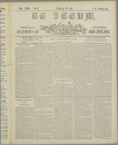 De Zeeuw. Christelijk-historisch nieuwsblad voor Zeeland 1910-07-08