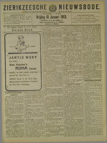 Zierikzeesche Nieuwsbode 1913-01-10