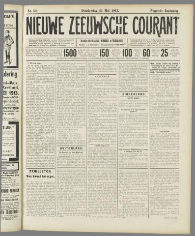 Nieuwe Zeeuwsche Courant 1913-05-22