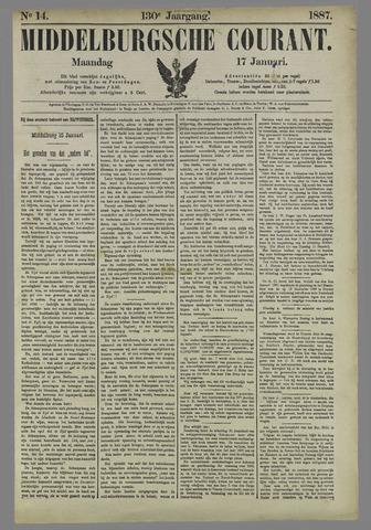Middelburgsche Courant 1887-01-17