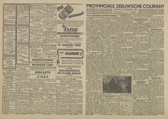 Provinciale Zeeuwse Courant 1942-12-29