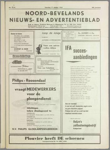 Noord-Bevelands Nieuws- en advertentieblad 1964-10-17